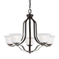 41ELIZABETH 43057-HBSE Hilton 5 Light 24 inch Heirloom Bronze Chandelier Ceiling Light