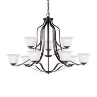 41ELIZABETH 43059-HBSE Hilton 9 Light 35 inch Heirloom Bronze Chandelier Ceiling Light