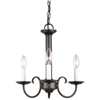 41 Elizabeth 43114-HB Stacey 3 Light 16 inch Heirloom Bronze Chandelier Ceiling Light