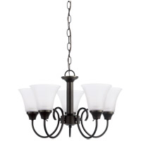 41ELIZABETH 43117-HBSE Stacey 5 Light 20 inch Heirloom Bronze Chandelier Ceiling Light