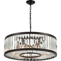 41 Elizabeth 47434-ORC Farrell 9 Light 28 inch Oil Rubbed Bronze Chandelier Ceiling Light