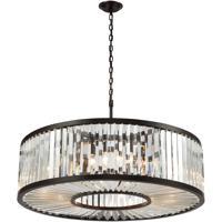 41 Elizabeth 47120-ORC Farrell 11 Light 35 inch Oil Rubbed Bronze Chandelier Ceiling Light