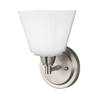 41 Elizabeth 43207-BNEW Rutherford 1 Light 6 inch Brushed Nickel Wall Bath Fixture Wall Light