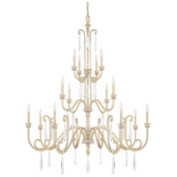 41ELIZABETH Winter Gold Crispin Chandeliers