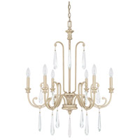 41ELIZABETH 46523-WG Louise 6 Light 27 inch Winter Gold Chandelier Ceiling Light