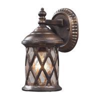 41ELIZABETH 47166-HBC Julian 1 Light 10 inch Hazelnut Bronze Outdoor Sconce