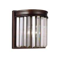 41ELIZABETH 42969-BSCB Kyle 1 Light 8 inch Burnt Sienna Wall Bath Fixture Wall Light