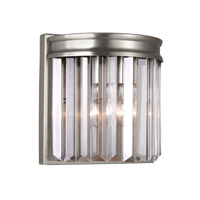 41ELIZABETH 42970-ABCB Kyle 1 Light 8 inch Antique Brushed Nickel Wall Bath Fixture Wall Light