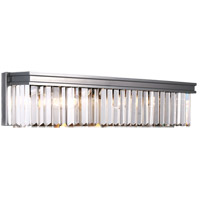 41 Elizabeth 46321-ABPG Kyle 4 Light 26 inch Antique Brushed Nickel Wall Sconce Wall Light