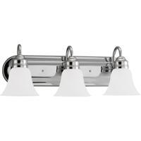 41ELIZABETH 40343-CSE Adger 3 Light 24 inch Chrome Bath Vanity Wall Light in Satin Etched Glass