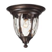 41ELIZABETH 47174-RB Joy 1 Light 11 inch Regal Bronze Outdoor Flush Mount
