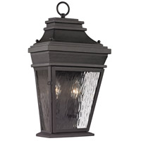 41ELIZABETH 40256-C Alba 2 Light 18 inch Charcoal Outdoor Sconce