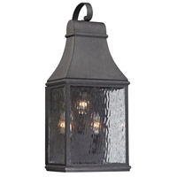 41ELIZABETH Charcoal Steel Outdoor Wall Lights
