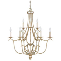 41 Elizabeth 46535-WG Stroud 9 Light 31 inch Winter Gold Chandelier Ceiling Light