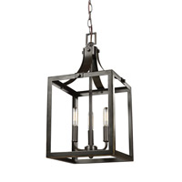 Steel Nigella Foyer Pendants