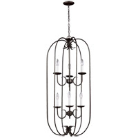 41ELIZABETH 43140-HB Stacey 6 Light 18 inch Heirloom Bronze Foyer Pendant Ceiling Light