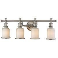 41ELIZABETH 47218-BNOW Eldridge 4 Light 30 inch Brushed Nickel Vanity Light Wall Light in Incandescent
