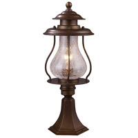 41ELIZABETH 47271-CB Sonya 1 Light 20 inch Coffee Bronze Post Mount