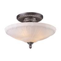 41ELIZABETH 40280-DSWA Hamlet 4 Light 20 inch Dark Silver Semi Flush Mount Ceiling Light