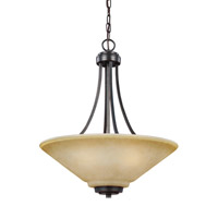 41 Elizabeth 43218-FBCP Rutherford 3 Light 19 inch Flemish Bronze Pendant Ceiling Light