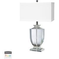 41 Elizabeth 40020-CL Amadeus 27 inch 60 watt Clear Table Lamp Portable Light in Hue LED Bridge Philips Friends of Hue