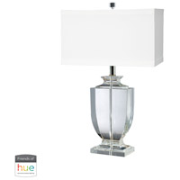 41 Elizabeth 40021-CL Amadeus 27 inch 60 watt Clear Table Lamp Portable Light in Dimmer Hue LED Philips Friends of Hue