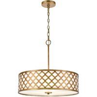 41 Elizabeth 55955-BG Hortensio 20 inch Bronze Gold Chandelier Ceiling Light