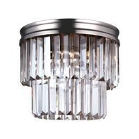 41ELIZABETH 40586-ABPG Kyle 2 Light 11 inch Antique Brushed Nickel Flush Mount Ceiling Light
