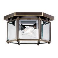 41 Elizabeth 41062-HBCB April 2 Light 8 inch Heirloom Bronze Flush Mount Ceiling Light