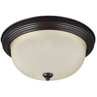 41ELIZABETH 42992-BSAS Quintina 1 Light 11 inch Burnt Sienna Flush Mount Ceiling Light
