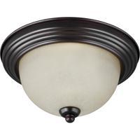 41ELIZABETH 43004-BSAS Quintina 3 Light 15 inch Burnt Sienna Flush Mount Ceiling Light