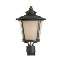 41ELIZABETH 42959-BIEH Valda 1 Light 23 inch Burled Iron Post Lantern