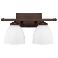 41ELIZABETH 46570-BBSW Thorpe 2 Light 16 inch Burnished Bronze Vanity Wall Light