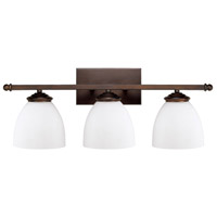 41ELIZABETH 46572-BBSW Thorpe 3 Light 24 inch Burnished Bronze Vanity Wall Light