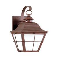 41ELIZABETH 43032-WCW Vita 1 Light 15 inch Weathered Copper Outdoor Wall Lantern