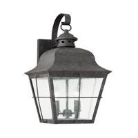 41ELIZABETH 41132-OBCS Vita 2 Light 21 inch Oxidized Bronze Outdoor Wall Lantern