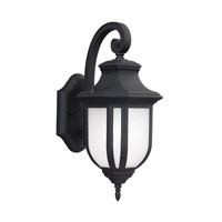 41ELIZABETH 43043-BSE March 1 Light 15 inch Black Outdoor Wall Lantern