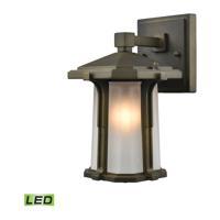 41 Elizabeth 40084-SBL Temperance LED 10 inch Smoked Bronze Outdoor Sconce
