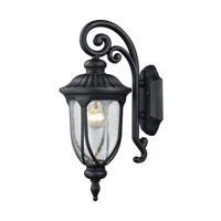 41 Elizabeth 47343-MBCB Arbor 1 Light 17 inch Matte Black Outdoor Sconce