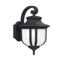 41ELIZABETH 43045-BSE March 1 Light 21 inch Black Outdoor Wall Lantern