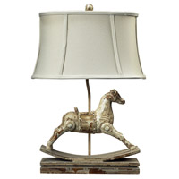 41 Elizabeth 46231-CC Rufus 24 inch 100 watt Clancey Court Table Lamp Portable Light in Incandescent