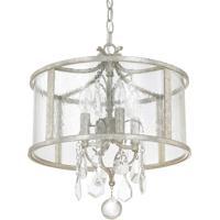 41 Elizabeth 46591-ASAG Dudley 4 Light 15 inch Antique Silver Pendant Ceiling Light