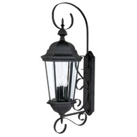 41 Elizabeth 46598-BCG Spencer 3 Light 36 inch Black Outdoor Wall Mount