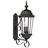 41 Elizabeth 46599-OBH Spencer 3 Light 36 inch Old Bronze Outdoor Wall Mount