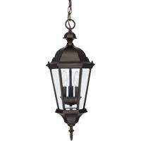41 Elizabeth 46601-OBH Spencer 3 Light 10 inch Old Bronze Outdoor Hanging Lantern