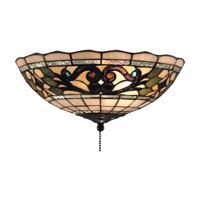41 Elizabeth 47361-VATD Harmony 2 Light 12 inch Vintage Antique Flush Mount Ceiling Light