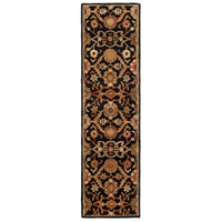 41ELIZABETH 48762-B Arlo 60 X 36 inch Black/Rust/Olive/Camel/Tan/Sage Rugs, Rectangle thumb