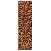 41ELIZABETH 48816-DB Arlo 156 X 108 inch Dark Brown/Mustard/Black/Clay Rugs, Rectangle thumb