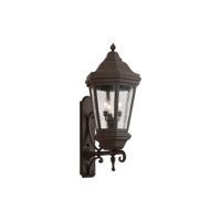 41 Elizabeth 40994-BCS Lucille 3 Light 35 inch Bronze Outdoor Wall Lantern
