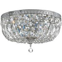 41ELIZABETH 56218-CFC Rawson 3 Light 14 inch Chrome Ceiling Mount Ceiling Light